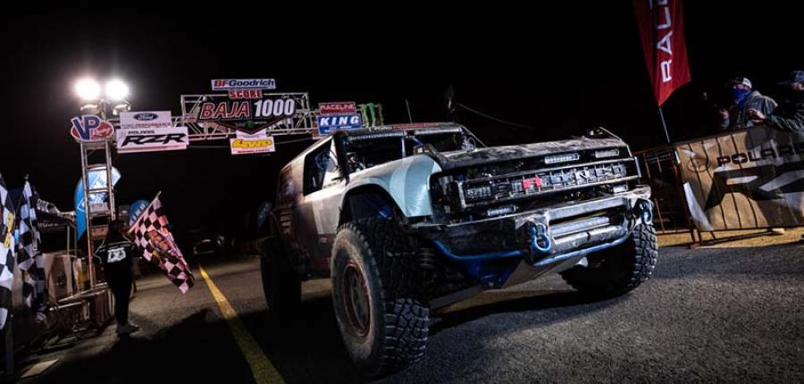 Prototipo de Bronco R Race cerró las mil millas en la carrera del desierto