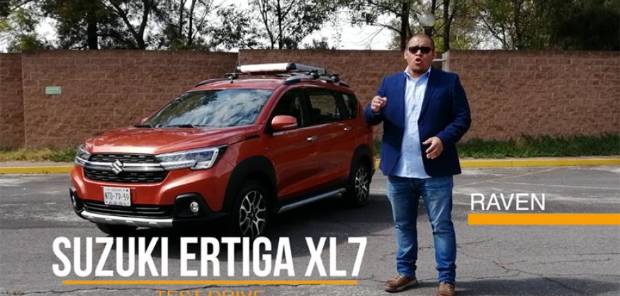 TEST DRIVE: SUZUKI ERTIGA XL7 un suv en plena competencia