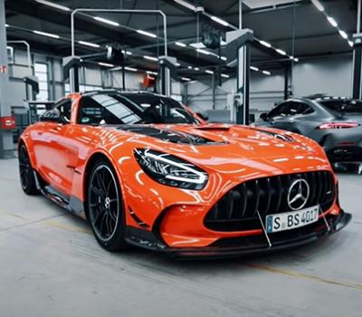VIDEO-Autos deportivos de lujo: Mercedes-AMG GT Black Series