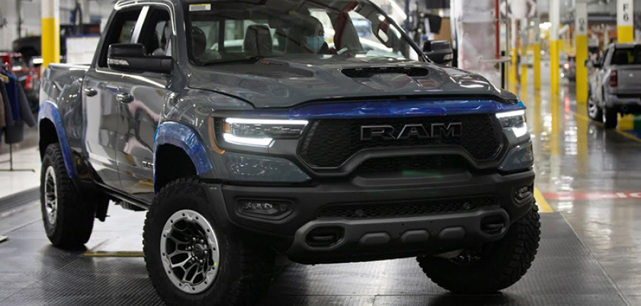 Pickup en México: Esta es la nueva Ram 1500 TRX 2021