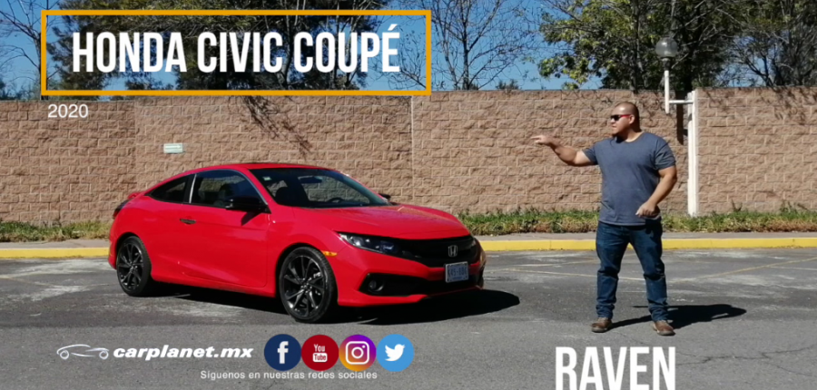Autos deportivos : HONDA CIVIC COUPÉ 2020 TEST DRIVE