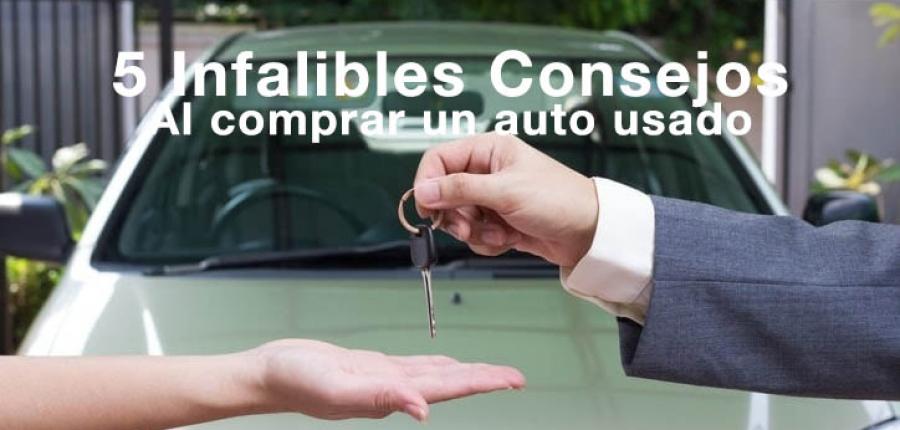 ¿Al comprar un auto usado que debo revisar?