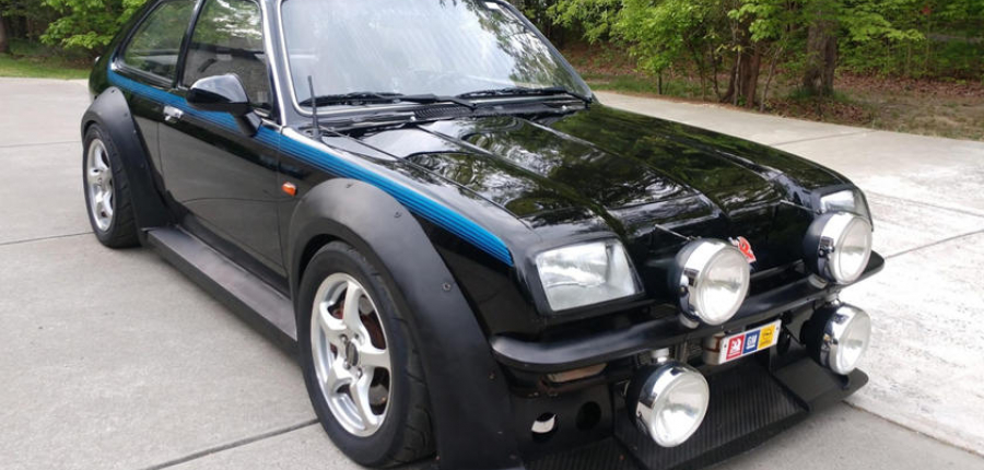 ¿lO HAS VISTO? Vauxhall Chevette corazón y entrañas de HONDA s2000