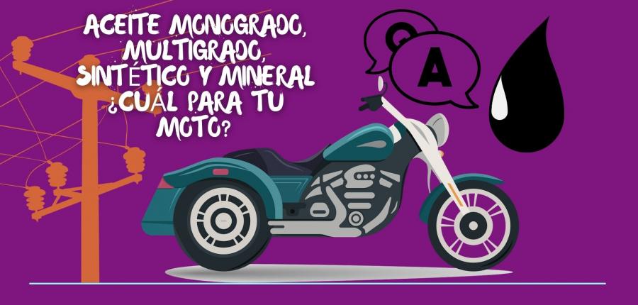 TIPS CARPLANET: ¿CUÁLES SON LOS TIPOS DE ACEITE PARA MOTO Y CÓMO IDENTIFICARLOS?