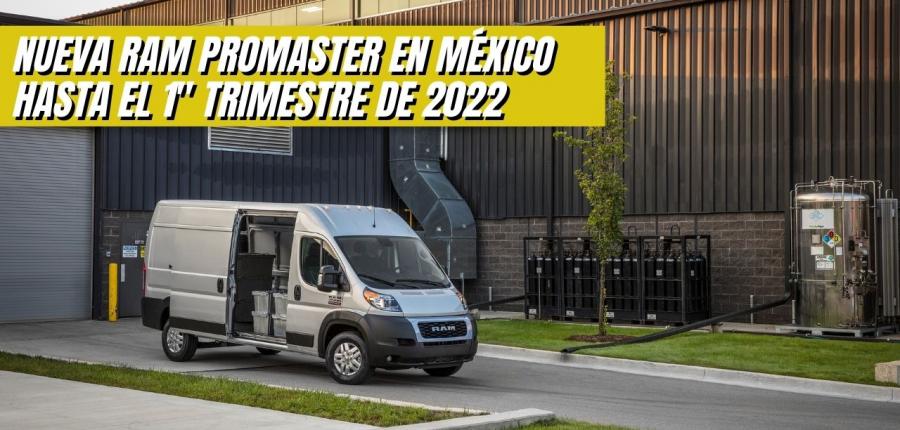 RAM PROMASTER 2022: REFERENTE EN EFICIENCIA, CONECTIVIDAD Y SEGURIDAD
