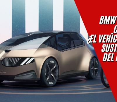 BMW I VISION CIRCULAR, UN BMW COMPACTO PARA 2040 BASADO EN LA SUSTENTABILIDAD Y EL LUJO