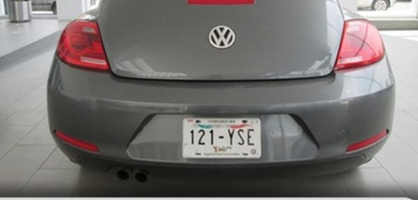 Volkswagen Beetle Asientos 5