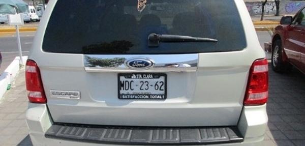 Ford Escape Asientos 5