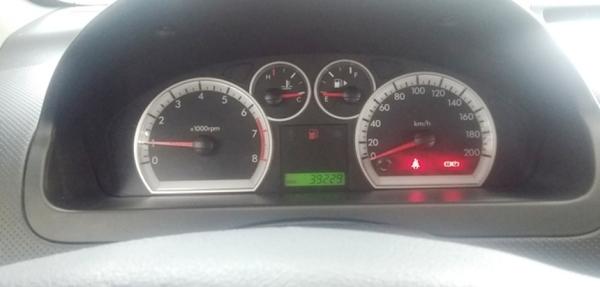Chevrolet Aveo Atrás 2