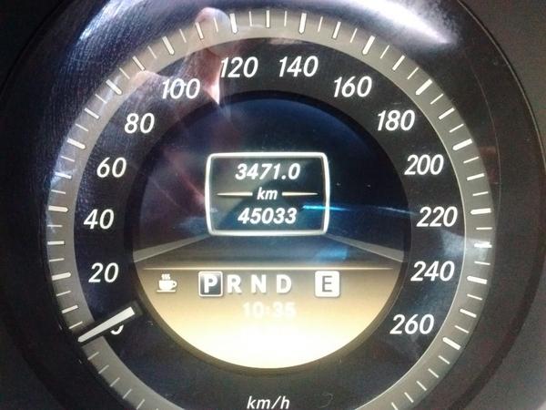 Mercedes Benz Clase C Atrás 1