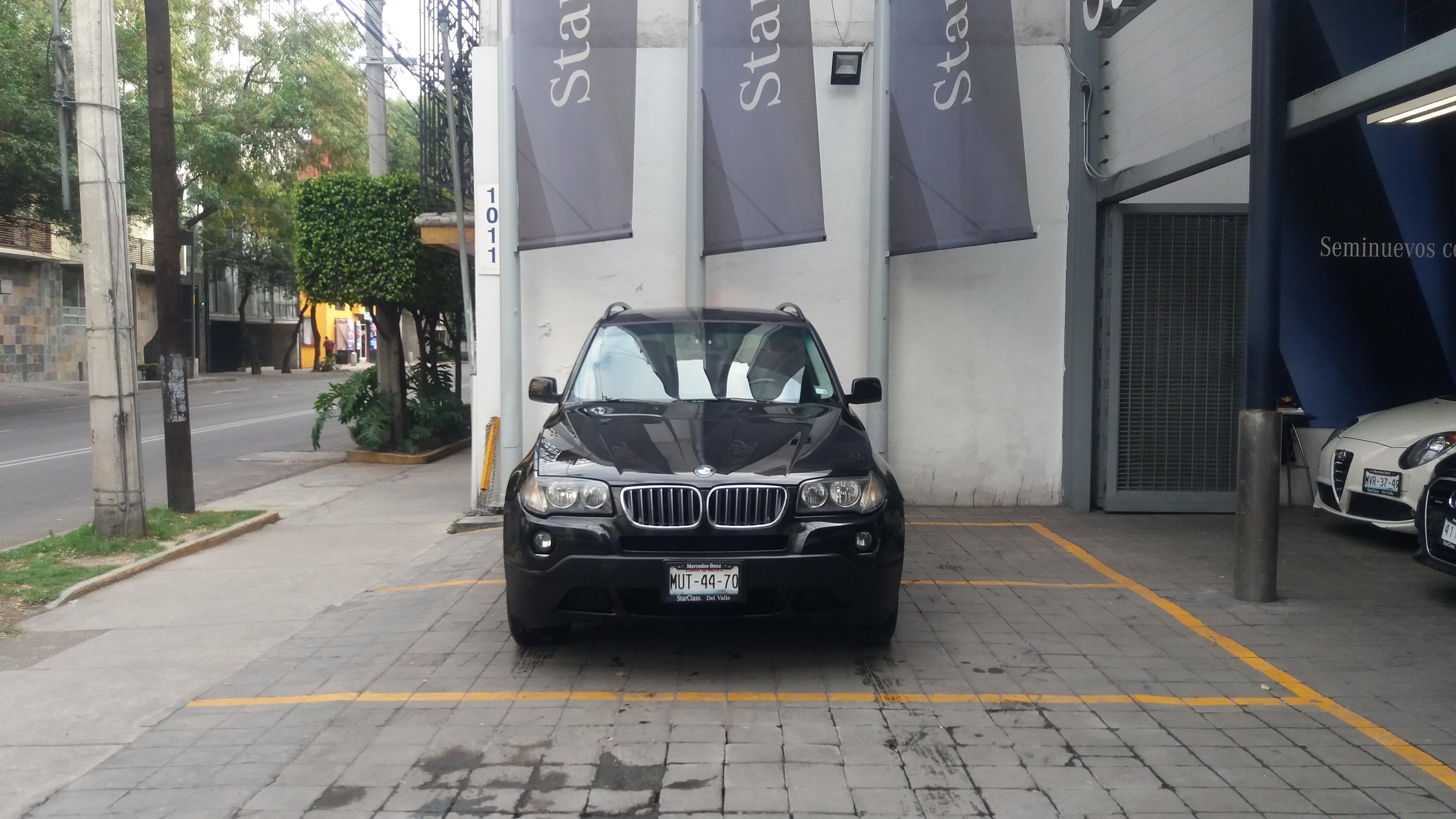 BMW X3 Frente 4