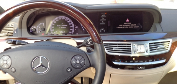Mercedes Benz Clase S Arriba 7