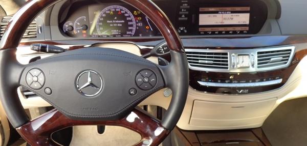 Mercedes Benz Clase S Lateral izquierdo 5