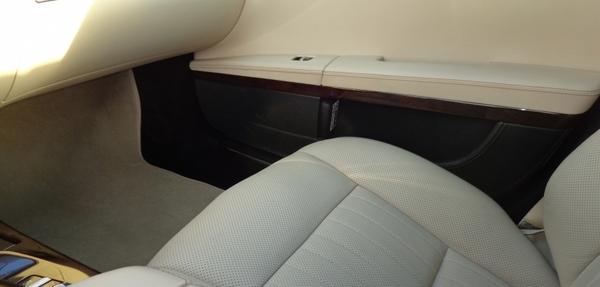 Mercedes Benz Clase S Asientos 2
