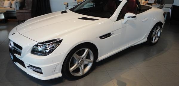 Mercedes Benz Clase SLK Lateral derecho 10