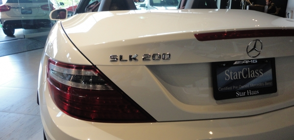 Mercedes Benz Clase SLK Lateral izquierdo 8