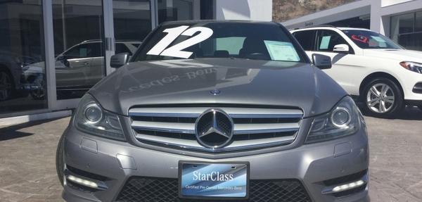 Mercedes Benz Clase C Atrás 4