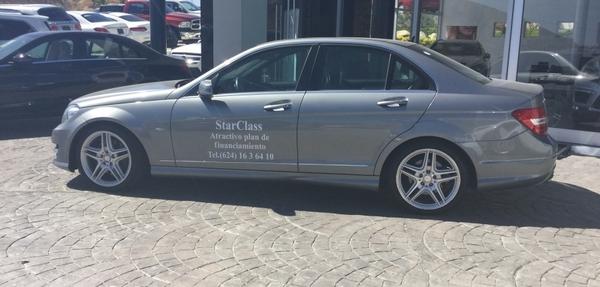 Mercedes Benz Clase C Tablero 3