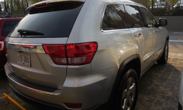 Jeep Grand Cherokee Asientos 7