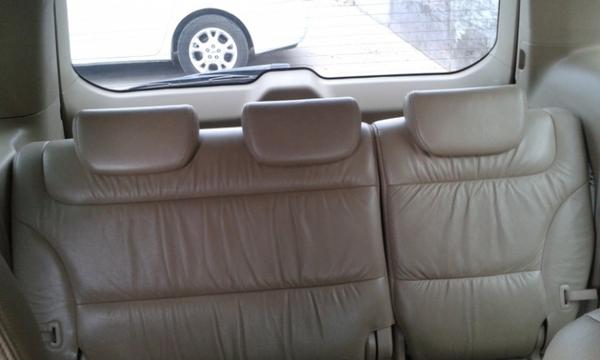 Honda Odyssey Asientos 5