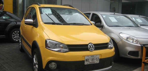 Volkswagen Crossfox Interior 9