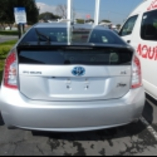 Toyota Prius Lateral derecho 1