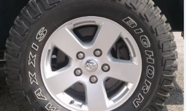 Dodge RAM Llantas 2