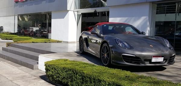 Porsche Boxster Lateral derecho 8