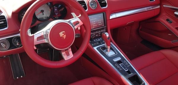 Porsche Boxster Interior 3