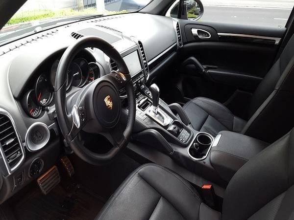 Porsche Cayenne Frente 1