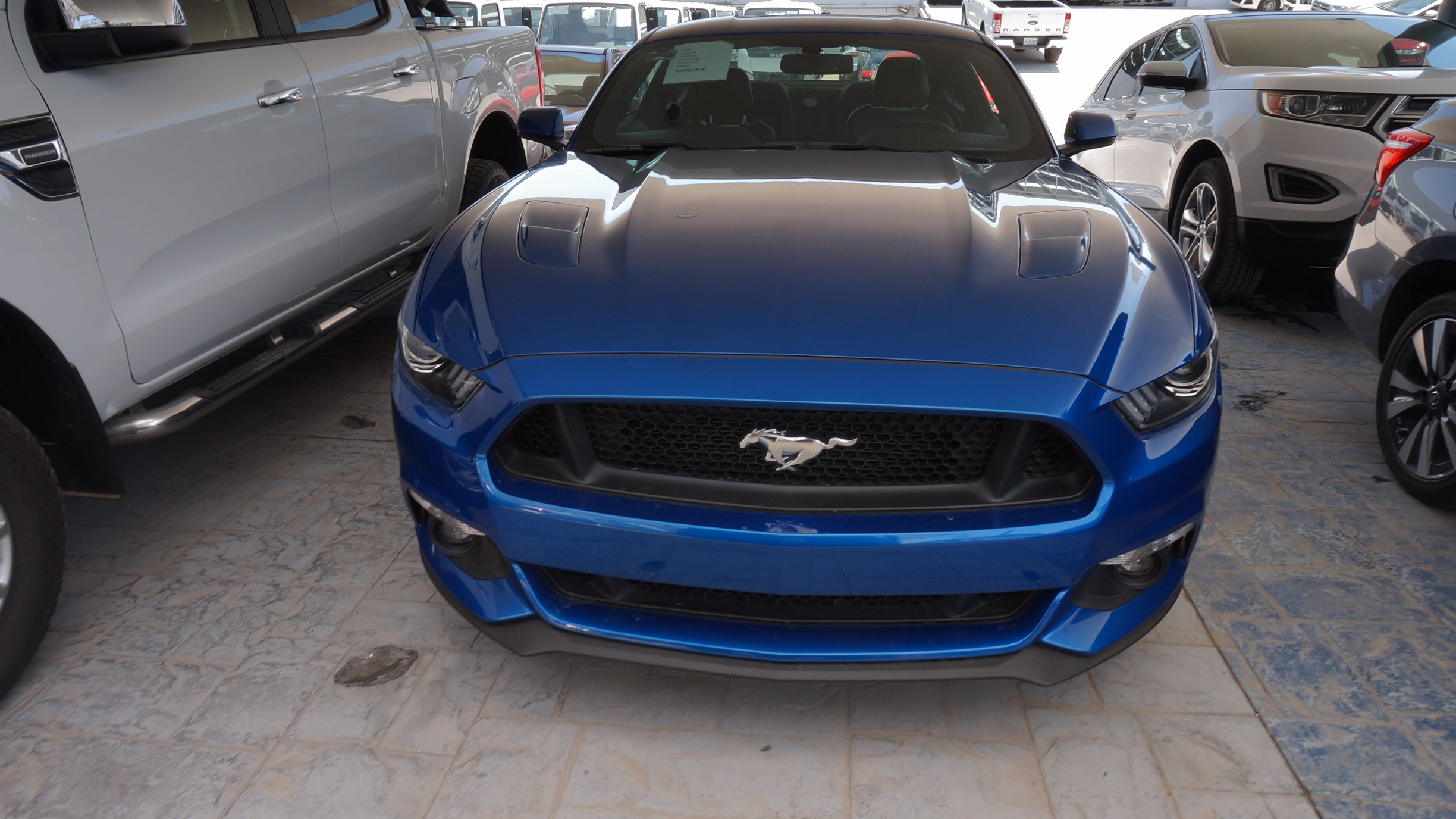 Ford Mustang Lateral izquierdo 2