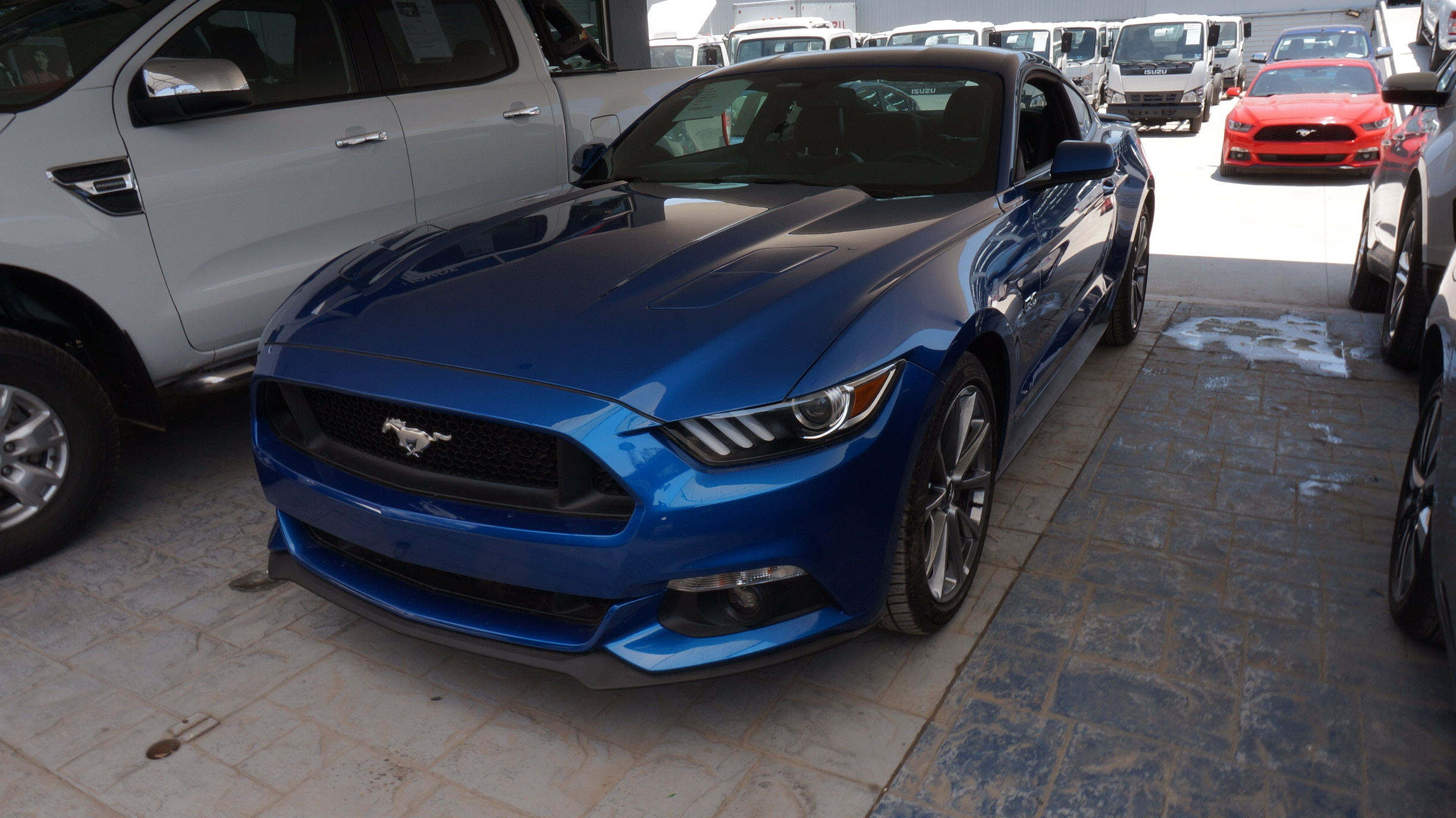 Ford Mustang Lateral izquierdo 3