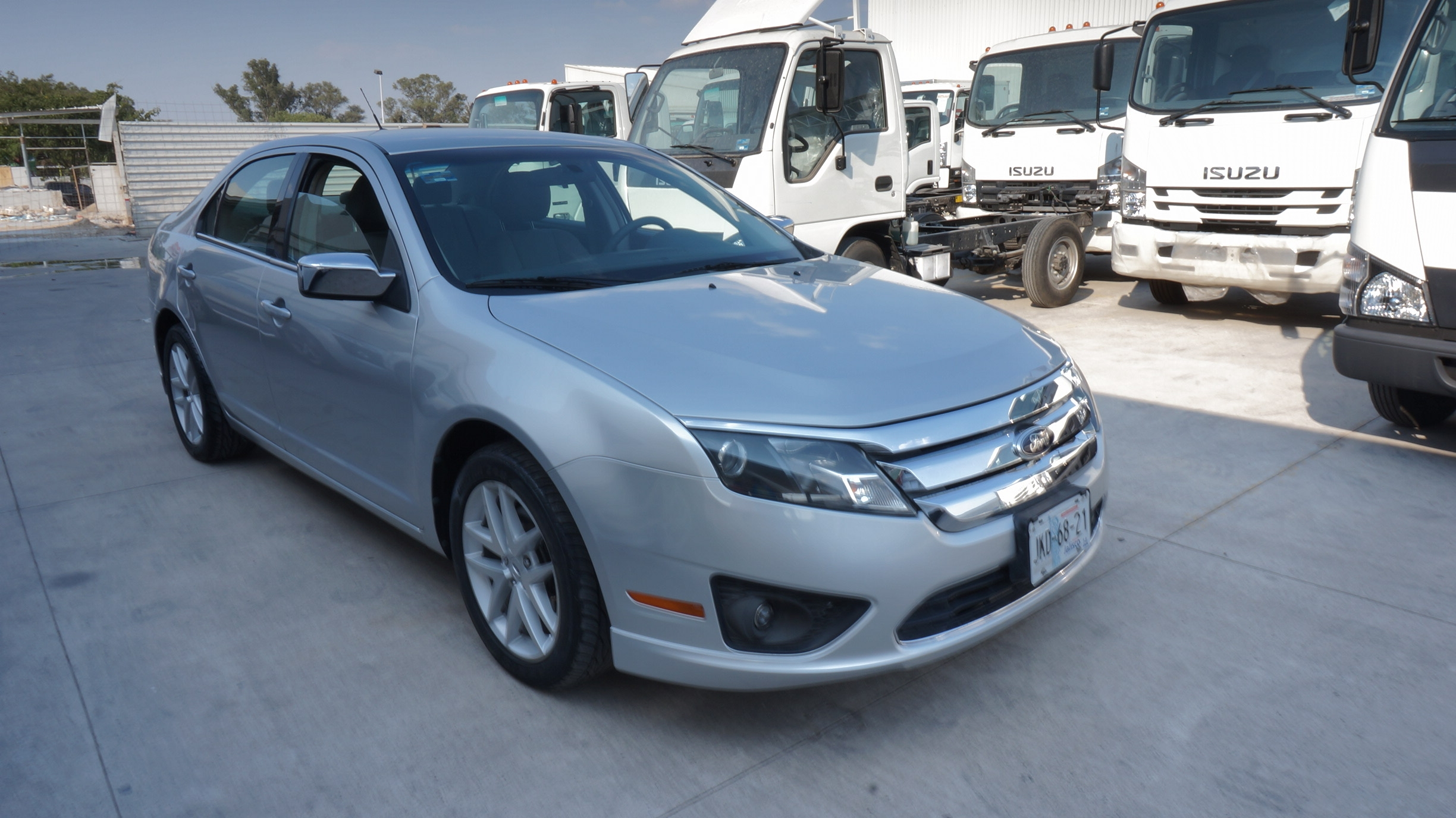 Ford Fusion Lateral derecho 16