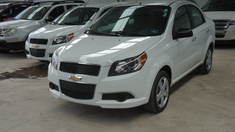 Chevrolet Aveo Frente 2