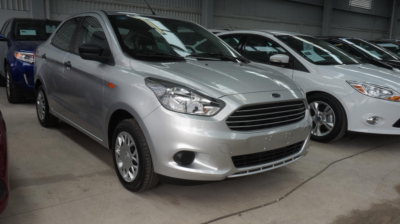 Ford Figo Atrás 2