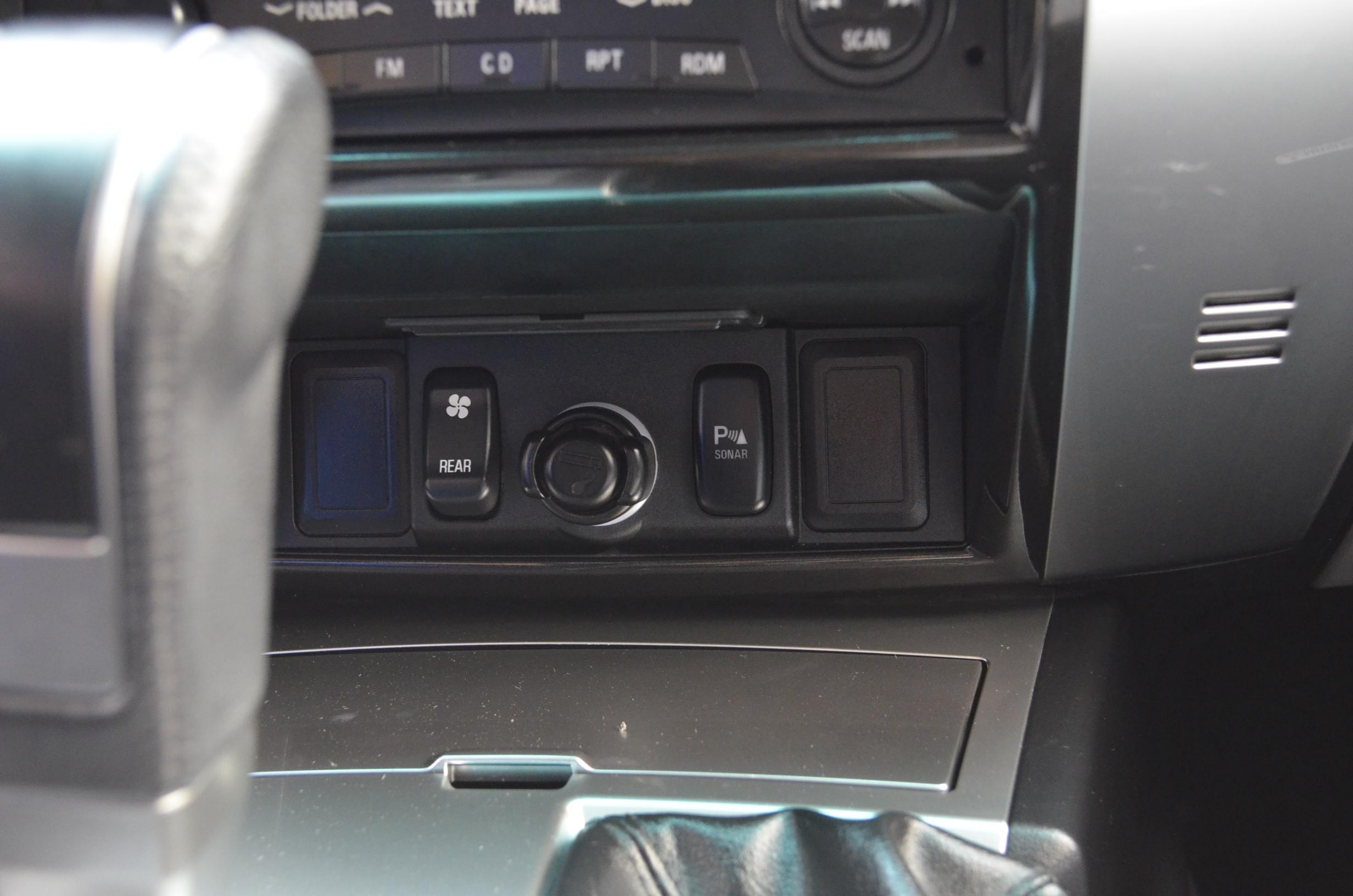 Mitsubishi Montero Sport Interior 12