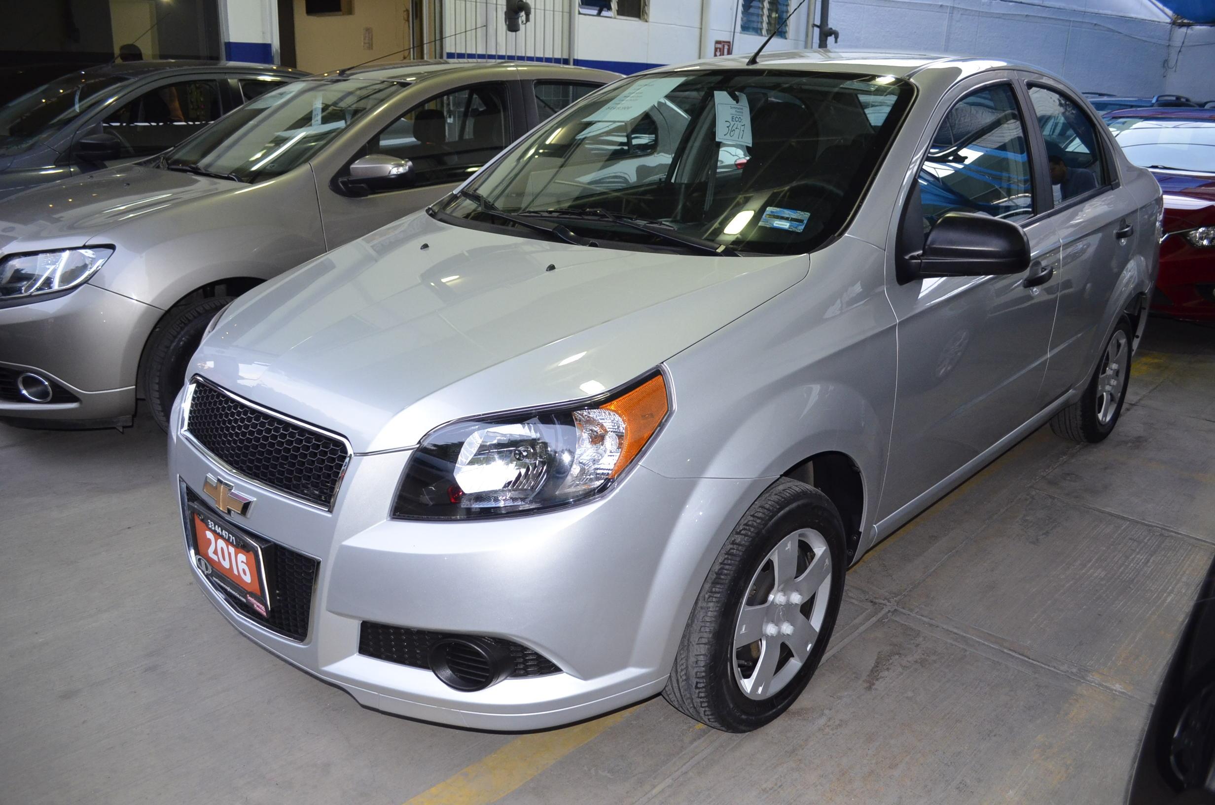 Chevrolet Aveo Tablero 1