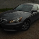 Honda Accord 4p LX sedan L4 tela 2012